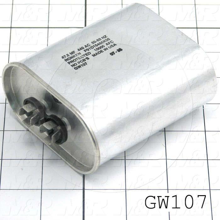 Capacitor, 47MFD, 440VAC