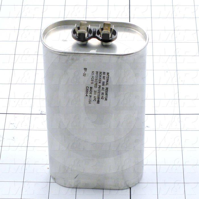 Capacitor, 50MFD, 660VAC