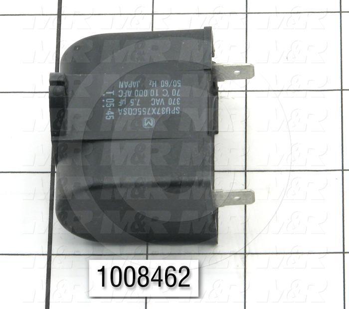 Capacitor, 7.5MFD, 370VAC