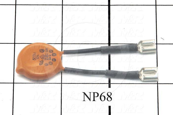 Capacitor Assembly, 0.05MFD, 250VAC