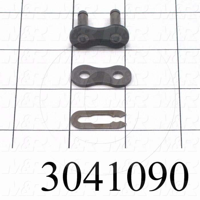 Chain Accessories, Connecting Link SF, ANSI 50 Chain Standard, Steel Material