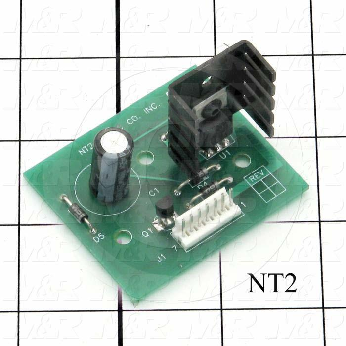 Circuit Board, +12 Regulator Board - Details