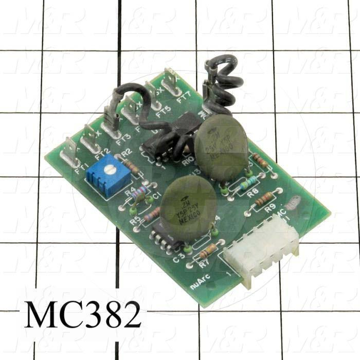 Circuit Board, 32X Integrator, C1200, For Exposure System - Details
