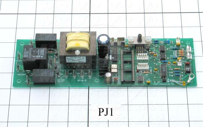 Circuit Board, Basic Timer/Integrator Control, For Exposure System