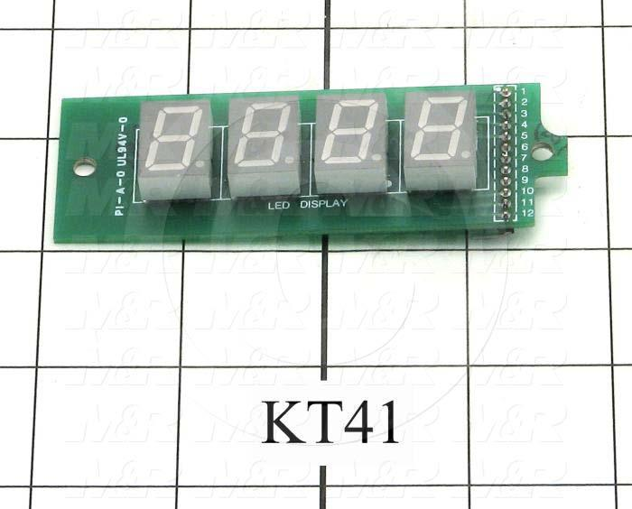 Circuit Board, Basic Timer/Integrator Display Board - Details