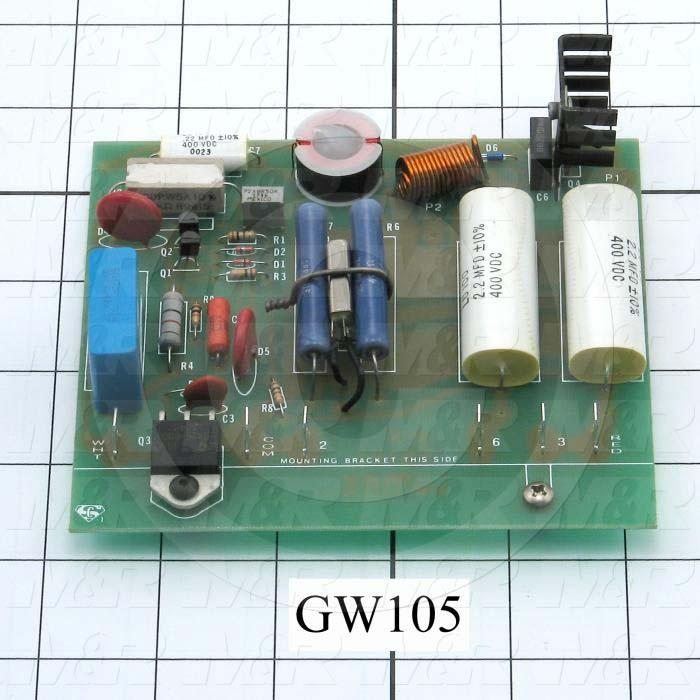 Circuit Board, Circuit Board Assembly, 60Hz