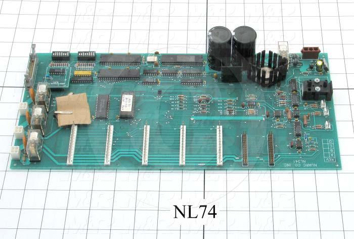 Circuit Board, Integrator/Control Board, SM2100, For Exposure System