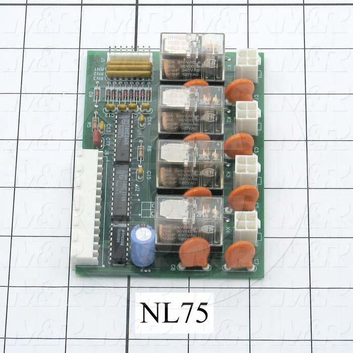 Circuit Board, SM2100 Relay