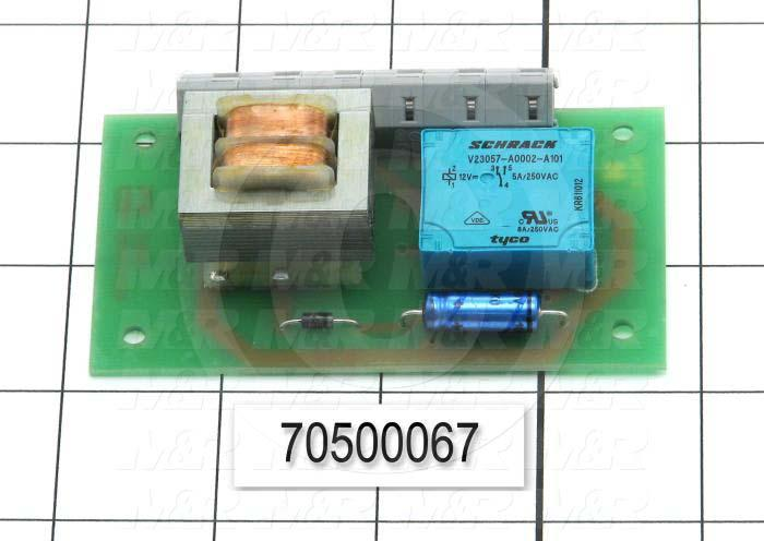 "Circuit Board, Strip Led End Contact, ""377"" Type HPL 02/01 LEX, Use On Flocker"
