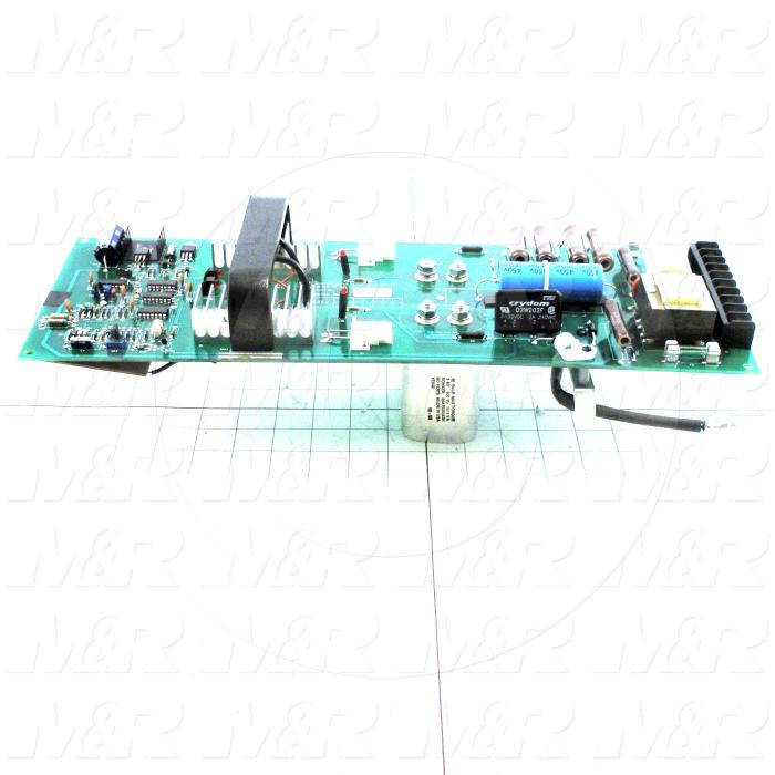 Circuit Board, Strip Led End Contact, 3KW, 50Hz