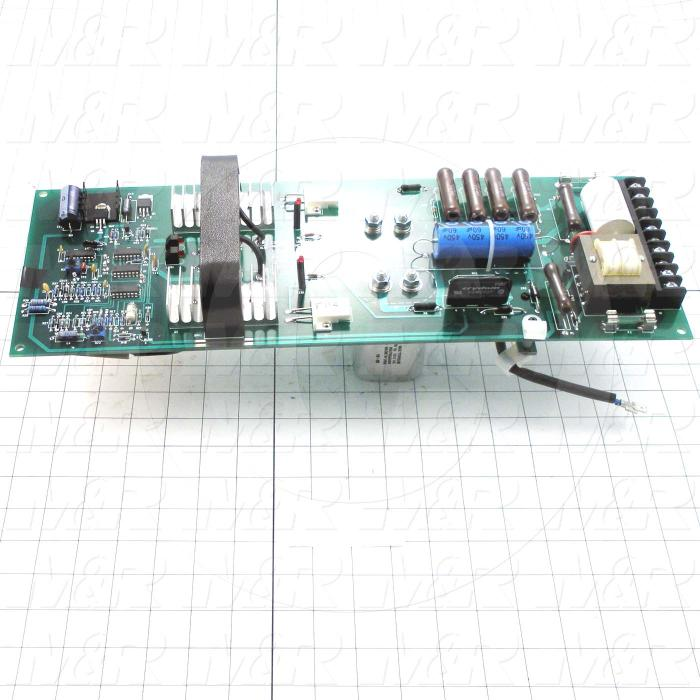 Circuit Board, Strip Led End Contact, 3KW, 60Hz
