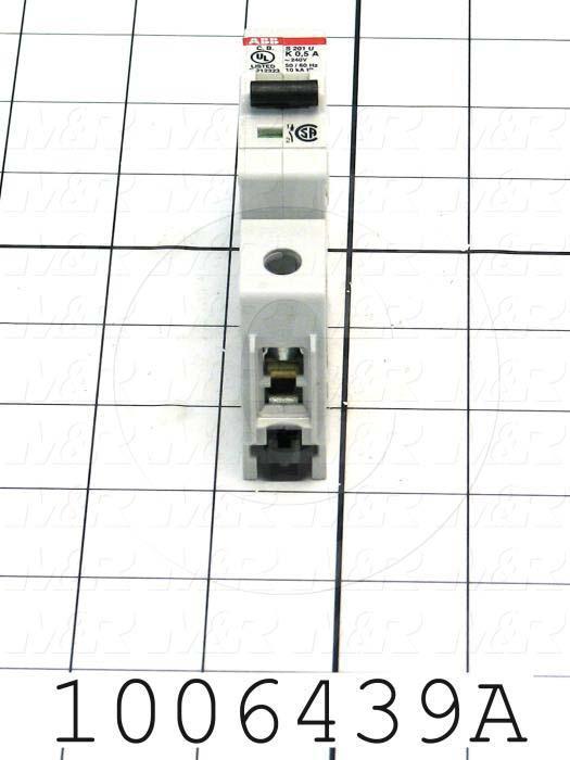 1006439a    circuit breaker  1 pole  0 5a  240vac  k curve