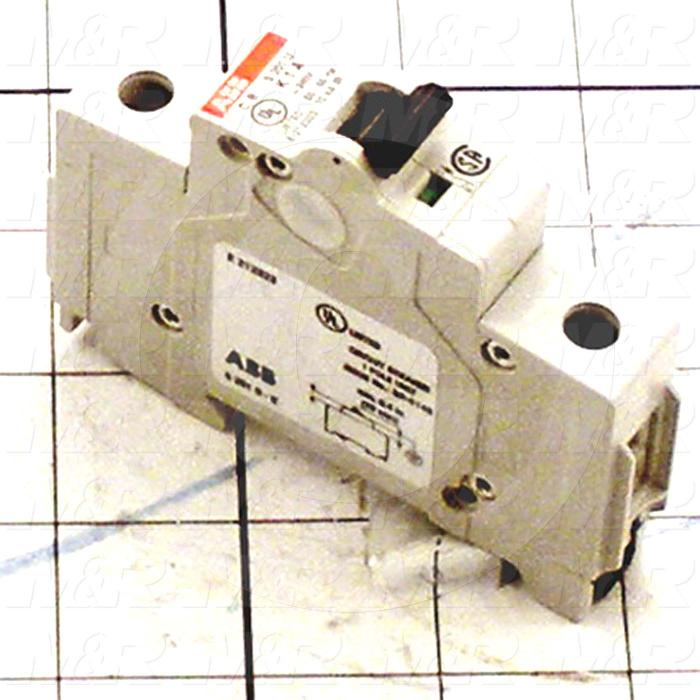 Circuit Breaker, 1 Pole, 1A, 240VAC, K Curve, UL 489 Listed