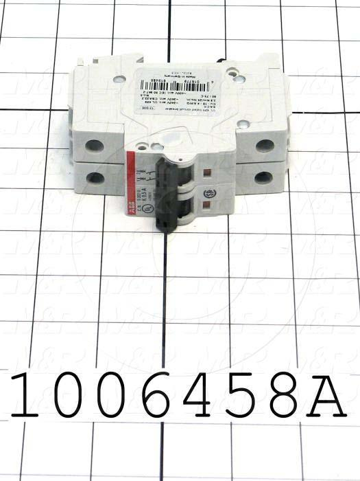 Circuit Breaker, 2 Poles, 0.5A, 240VAC, K Curve, UL 489 Listed