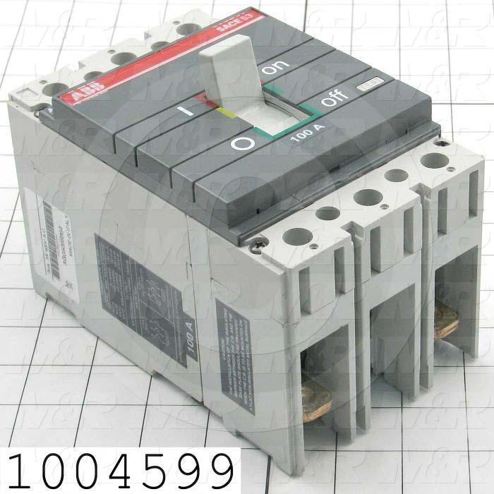 Circuit Breaker, 2 Poles, 100A, 480VAC