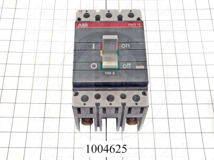 Circuit Breaker, 2 Poles, 150A, 480VAC