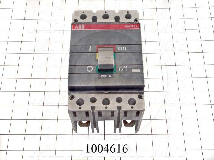 Circuit Breaker, 2 Poles, 200A, 240VAC