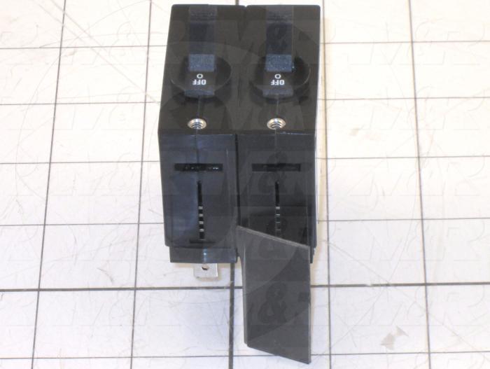 Circuit Breaker, 2 Poles, 20A, UL 489