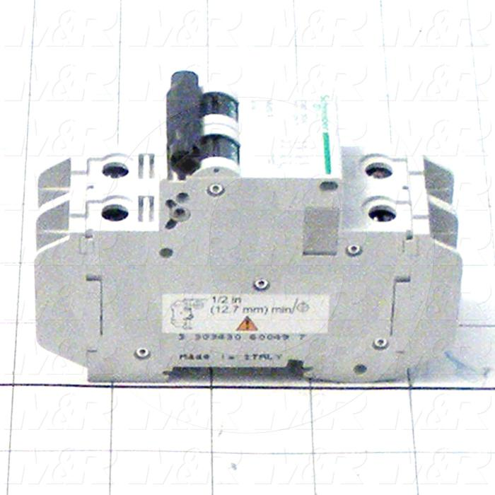 Circuit Breaker, 2 Poles, 30A, 240VAC, C Curve, UL 489 Listed