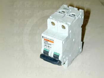 Circuit Breaker, 2 Poles, 40A, 480VAC, D Curve, UL 1077