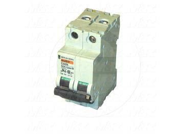 Circuit Breaker, 2 Poles, 50A, 480VAC, B Curve, UL 1077