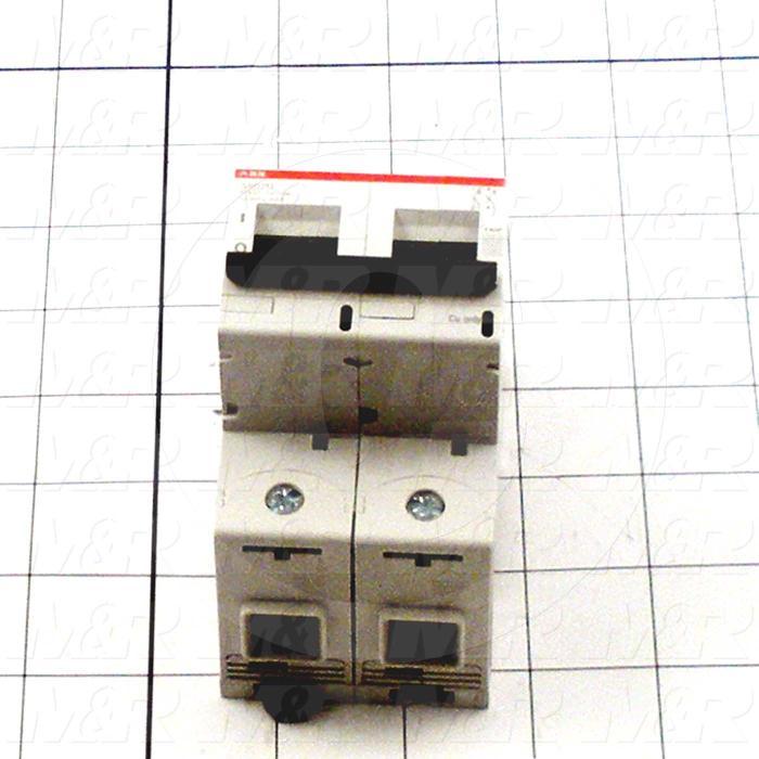 Circuit Breaker, 2 Poles, 80A, 240VAC, K Curve