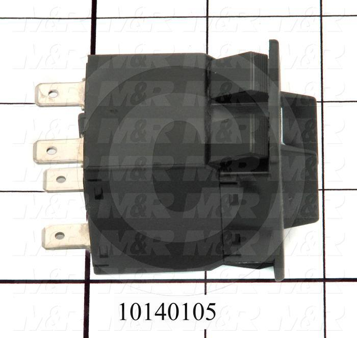 Circuit Breaker, 20A, 120/240VAC, Slow Trip