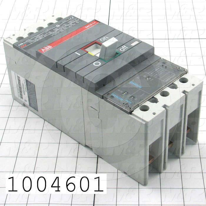Circuit Breaker, 3 Poles, 100-250A, 480VAC