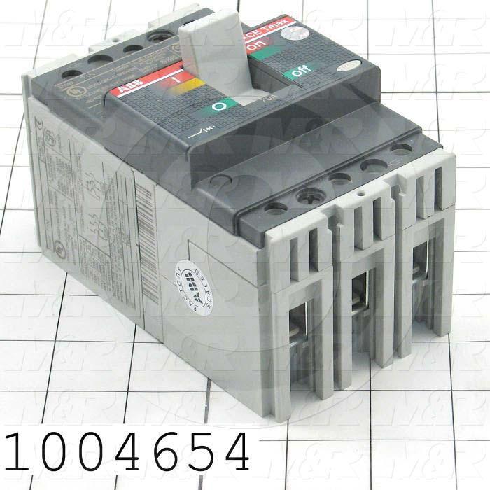 Circuit Breaker, 3 Poles, 70A, 480VAC