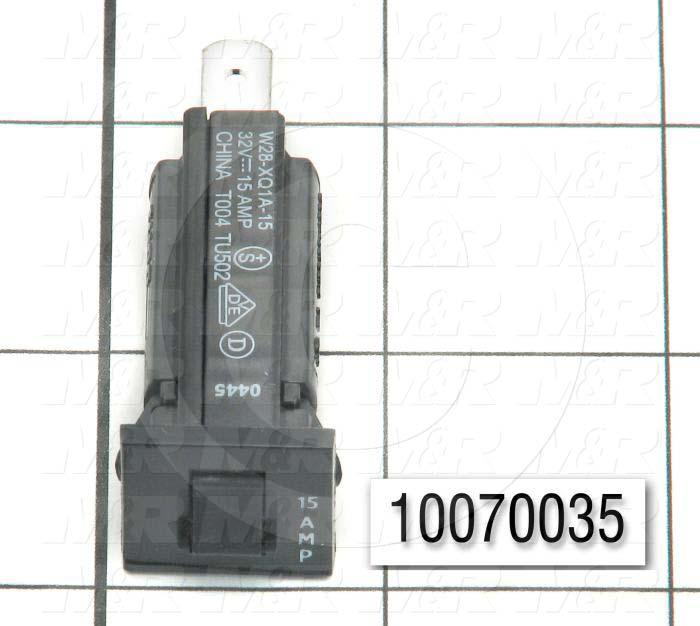 Circuit Breaker, Thermal, 1 Pole, 15A