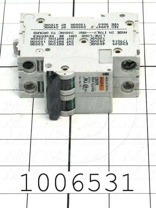 CIRCUIT BREAKER TWO  POLE 63A