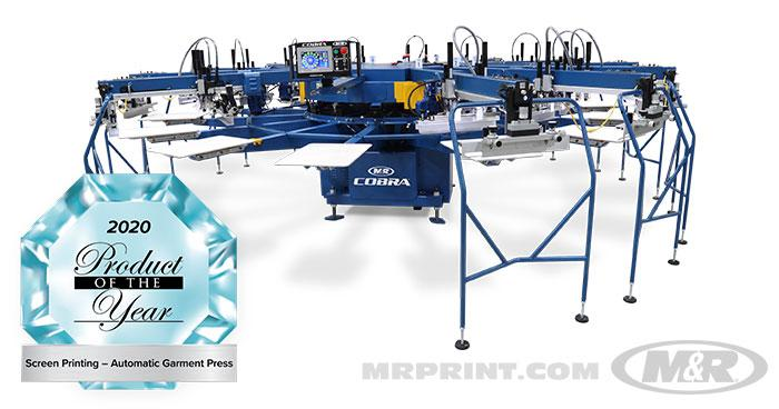 COBRA™ Automatic Screen Printing Press