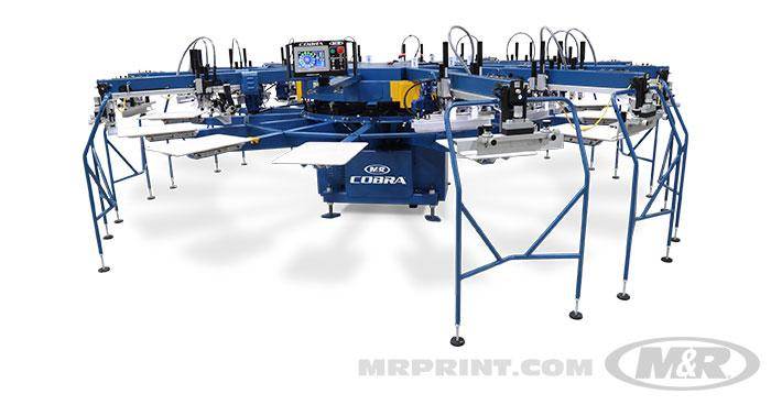 COBRA™ Automatic Screen Printing Press