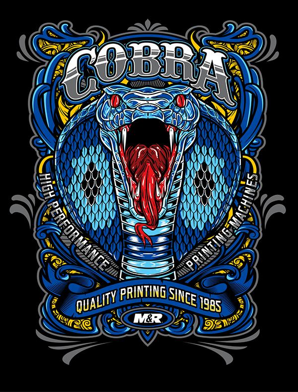 COBRA print