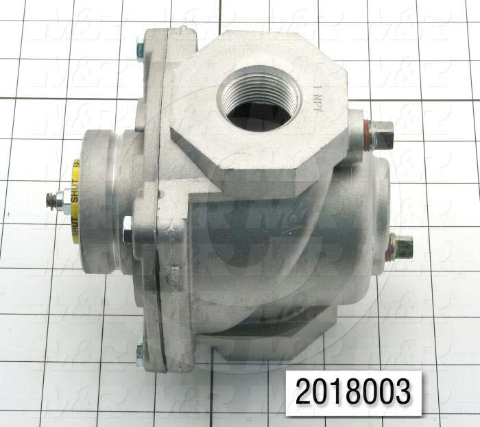 "Combination Gas Valve, Thread Size 1"" NPT, Max. Pressure 5.0 Psi"