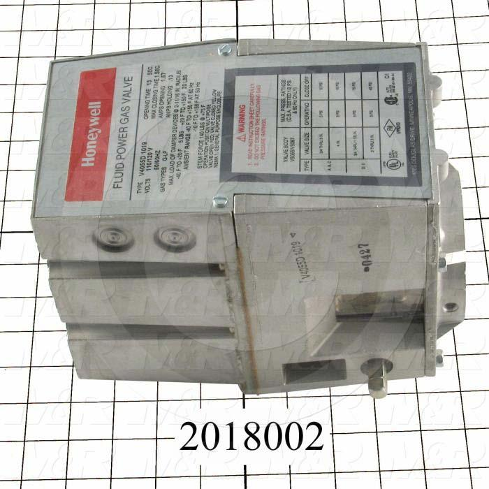 Combination Gas Valve, Voltage 110V 1PH, Opening Action Slow