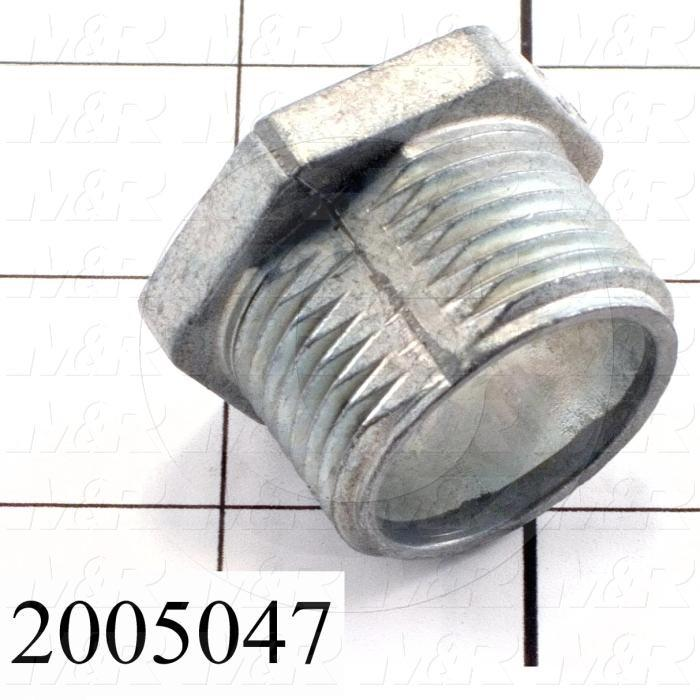 Conduit Fitting, Chase Closed Nipple, 1""