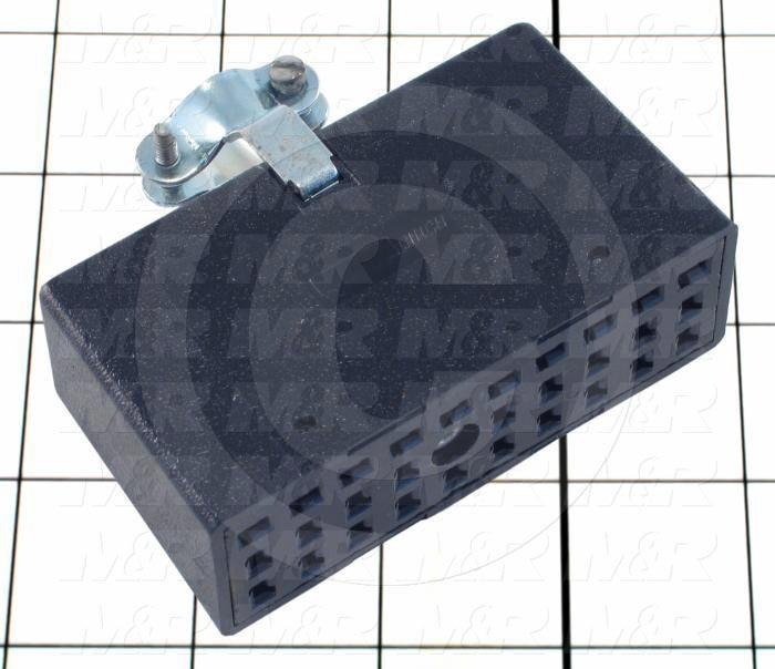 Connector, Cable Socket, 30-Contact, TWISTLOCK Terminal, 5.08MM, 400VAC, 15A