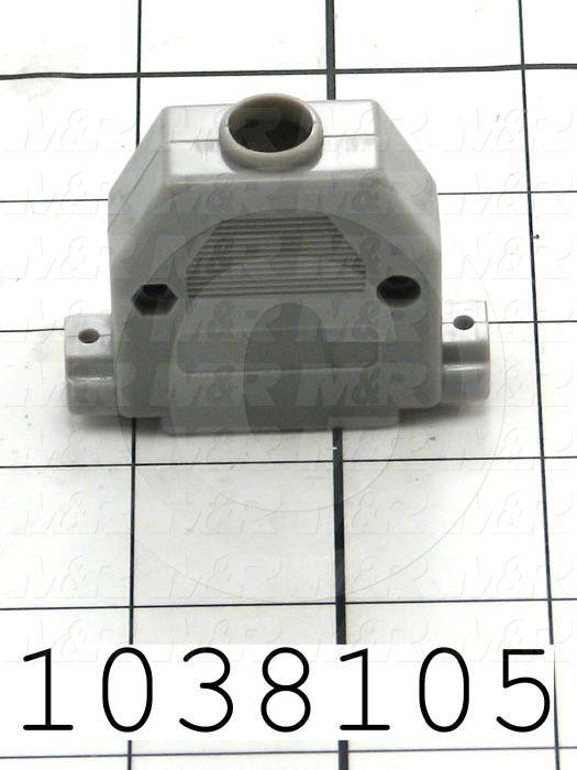 Connector Cover, Backshell, DB-25 Connectors