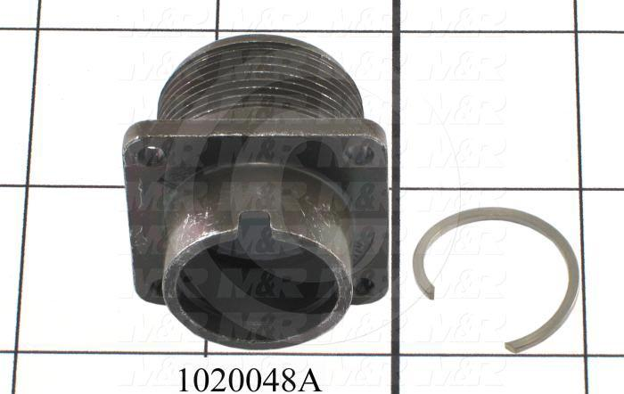 Connector Cover, Shell, Circular