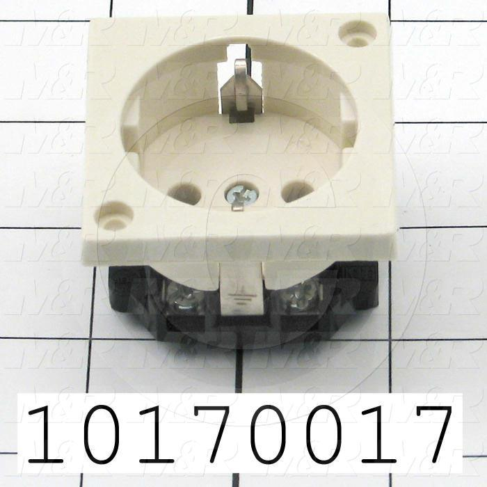 Connector for Power, Receptacle, 220V