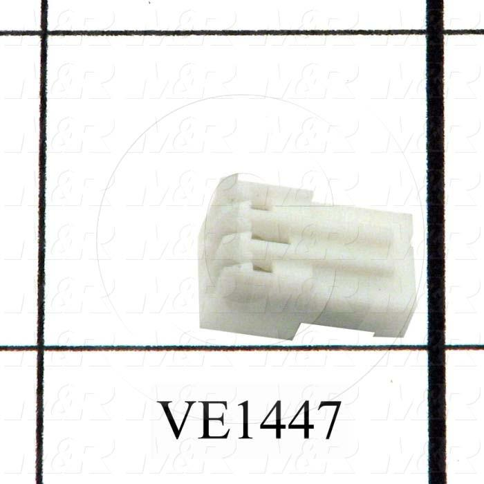 Connector, HARAX, Female Socket, 3-Contact, TWISTLOCK Terminal, 5.08MM, 400VAC, 15A
