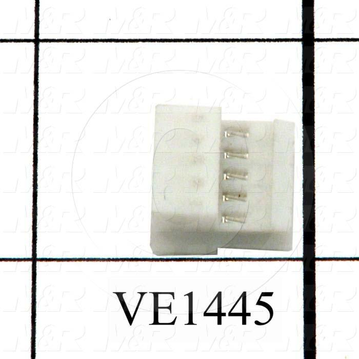 Connector, HARAX, Female Socket, 5-Contact, TWISTLOCK Terminal, 5.08MM, 400VAC, 15A