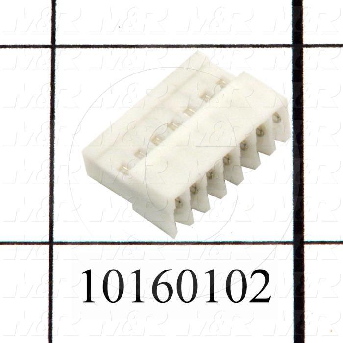 Connector, HARAX, Female Socket, 7-Contact, TWISTLOCK Terminal, 5.08MM, 400VAC, 15A