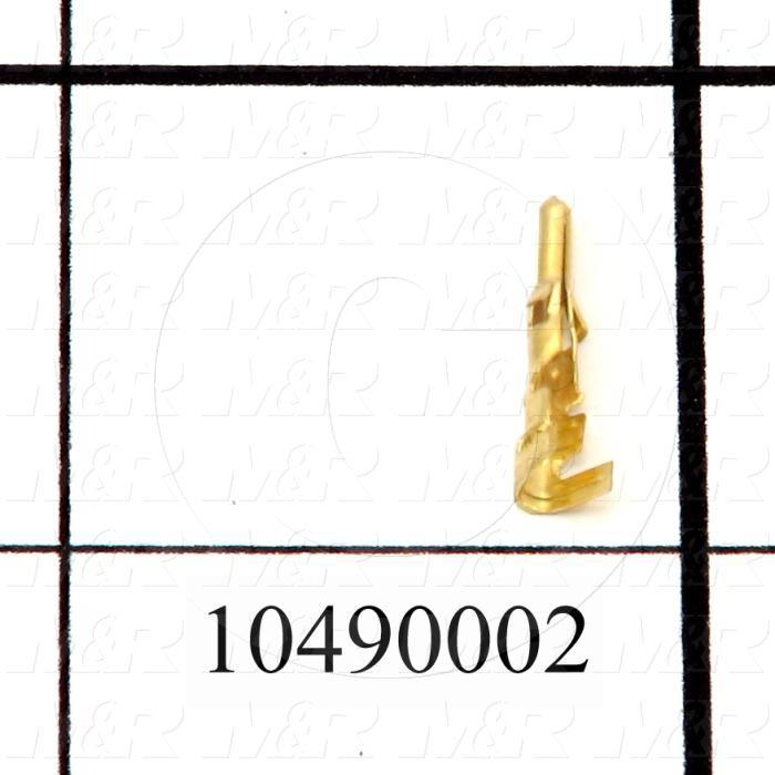 Connector Part, Pin, Gold