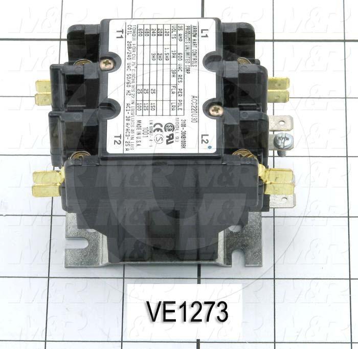 Contactor, 25A, 240VAC