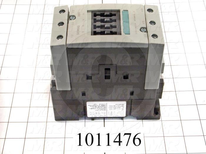 Contactor, 3 Poles, 120VAC Coil, 105A, 30 HP @ 3PH 200VAC, 575VAC, 75 HP @ 3PH 460VAC, Screw Terminal Connection