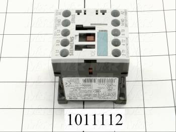 Contactor, 3 Poles, 120VAC Coil, 20A, 3 HP @ 3PH 200VAC, 575VAC, 7.5 HP @ 3PH 460VAC, 1 NO Contacts, Screw Terminal Connection