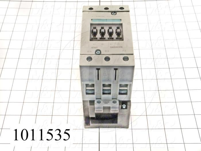 Contactor, 3 Poles, 208VAC Coil, 105A, 25 HP @ 3PH 200VAC, 575VAC, 60 HP @ 3PH 460VAC, Screw Terminal Connection