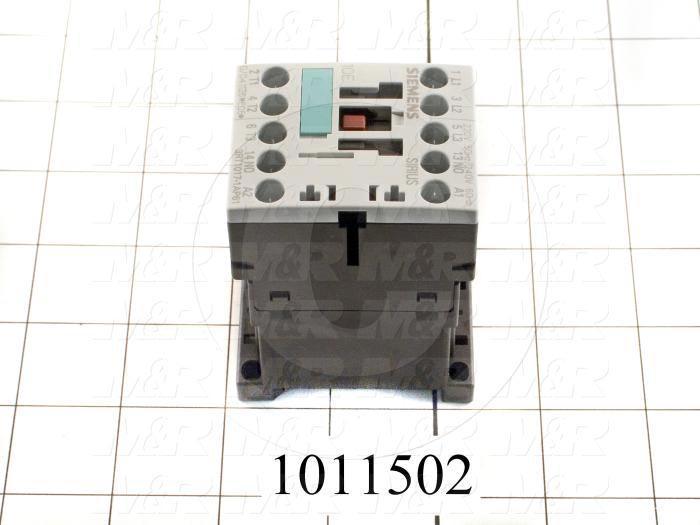 Contactor, 3 Poles, 240VAC Coil, 20A, 3 HP @ 3PH 200VAC, 575VAC, 7.5 HP @ 3PH 460VAC, 1 NC Contacts, Screw Terminal Connection